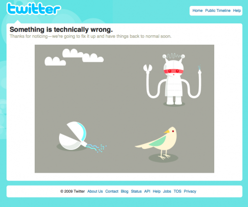 twitter fail 500x417 custom Twitter Is Not Poor Mans Email